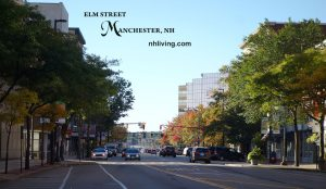 Elm Street, Downtown Manchester, New Hampshire