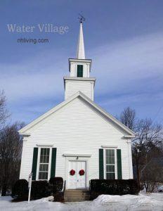 Historic NH Church, Water Village