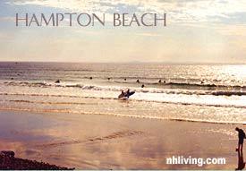 Hampton Beach, Hampton New Hampshire Seacoast region