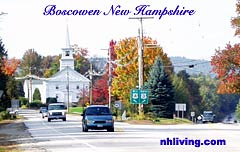 Boscawen, New Hampshire Merrimcak Valley NH