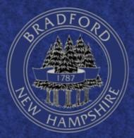 Town Seal, Bradford, NH Merrimack Valley region New Hampshire