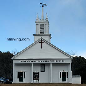 Barnstead Town Center Church, Barnstead, NH Lakes Region New Hampshire
