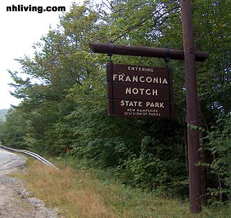 Franconia Notch State Park, White Mountain National Forest New Hampshire
