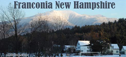 Town Center, Franconia New Hampshire White Mountains region