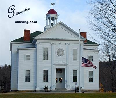 Town Hall, Gilmanton New Hampshire Lakes region