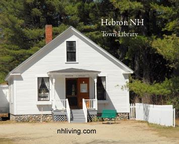 Hebron Library New Hampshire Lakes region
