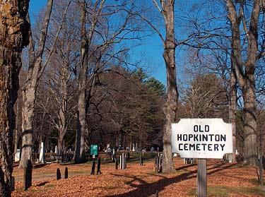 Cemetery, Hopkinton New Hampshire Merrimack Valley region