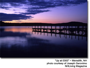 Meredith Dawn New Hampshire Lakes region