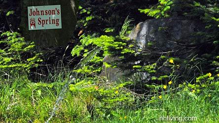 Johnson's Spring Pittsburg NH
