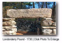 Pound, Londonderry, New Hampshire Merrimack Valley region