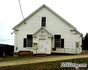 Town Hall Grange, Lyman New Hampshire White Mountains region