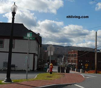 Main Street, downtown Enfield New Hampshire Dartmouth Lake Sunapee region