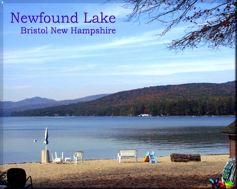 Newfound Lake, Bristol New Hampshire, Lakes region NH