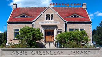 Abbie Greenleaf Library, Franconia New Hampshire White Mountains region