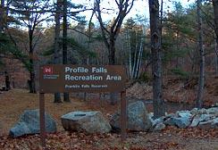 Profile Falls, Bristol, NH Lakes region New Hampshire