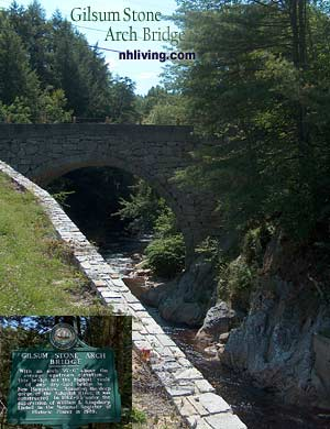 Stone Arch Bridge, Gilsum New Hampshire Monadnock region