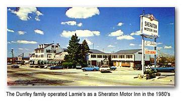 Shertaon Motor Inn 1980s Hampton NH Dunfey Hotels