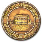Town Seal, Hillsborough New Hampshire Monadnock region