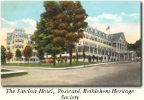 Sinclair Hotel, Bethlehem NH White Mountain New Hampshire