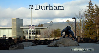 Catamount Sculpture, UNH, Durham New Hampshire Seacoast region
