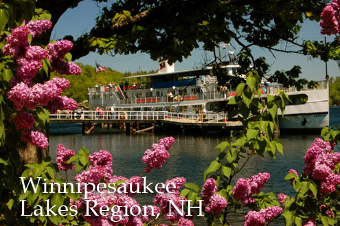Lakes Region NH Riverboat Winnipesaukee Squam Lakes Laconia Weirs Beach
