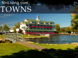 New Hampshire communities, NH town list find NH towns by region
