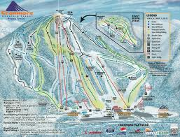 ski cranmore map
