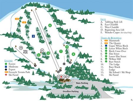mcintyre ski map