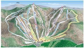 ragged mountain ski map