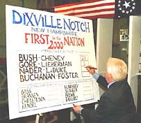 NH votes first in presidential elections