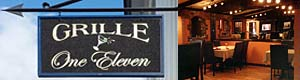 Grille One Eleven at Thayers Inn Littleton White Mountains NH