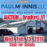Paul McInnis Real Estate Auction