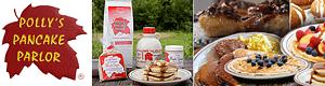 Polly Pancake Parlor, Sugar Hill NH Restaurant