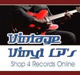 Vintage Vinyl - LP Record Albums CD Sales
