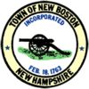 New Boston NH Town Seal