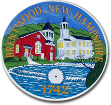 Town Seal, Brentwood, NH Seacoast region New Hampshire