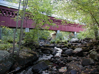 Brookline Covered Bridge, Merrimack Valley New Hampshire