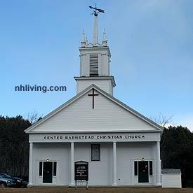 Barnstead Town Center Church, Barnstead, NH Lakes Region New Hampshire