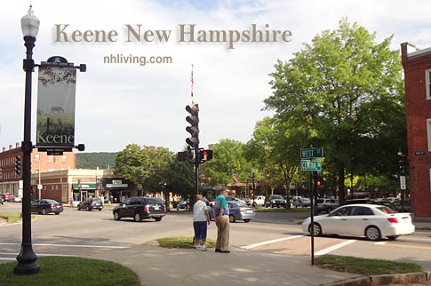 Center Square, Keene New Hampshire Monadnock region