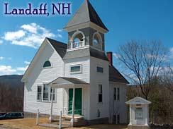 Church, Landaff New Hampshire White Mountains region