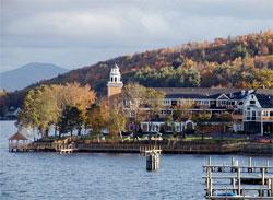 Church Landing, Meredith New Hampshire at the Inns at Mill Falls