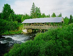 Covered Bridge, Clarksville, NH Great North Woods