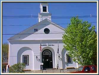 Town Hall Colebrook NH Great North Woods New Hampshire
