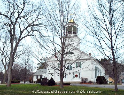 Congregational Church, Merrimack New Hampshire Merrimack Valley region