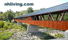 A Covered Bridge Next to Miller's