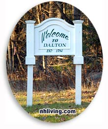 Welcome to Dalton NH, Coos County