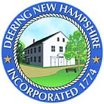 Deering Town Seal, New Hampshire