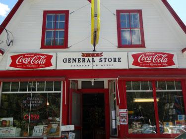 Dick's General Store, Danbury NH Dartmouth Lake Sunapee New Hampshire