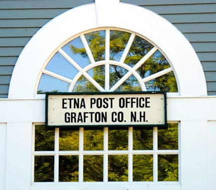 Post Office, Etna New Hampshire Dartmouth Lake Sunapee region