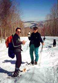 N.H. Snowshoe Vacations, New Hampshire Snowshoeing, snowshoe trails, snowshoe rentals